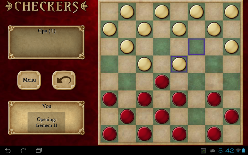 Checkers Free screenshot 1