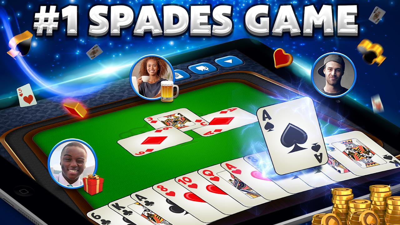 Spades Plus screenshot 1