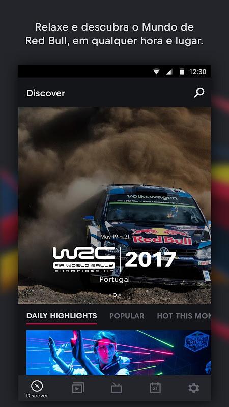 Red Bull TV: Desporto, música eespetáculo ao vivo screenshot 1