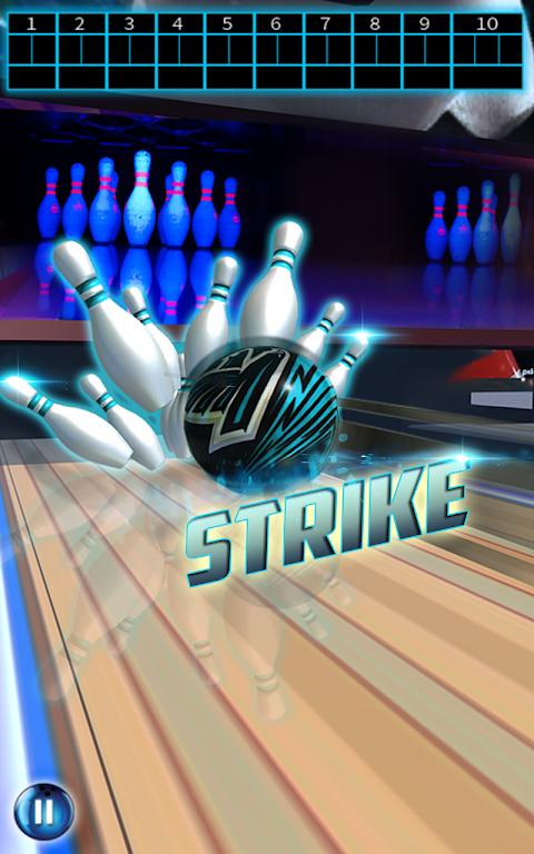 Spin Bowling Alley King 3D: Stars Strike Challenge screenshot 1