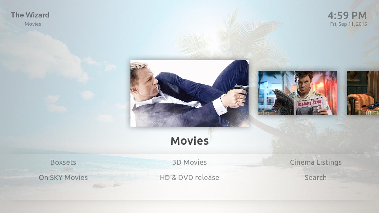 Kodi on Android screenshot 1