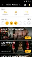 Home Workout for Men - Bodybuilding Screen