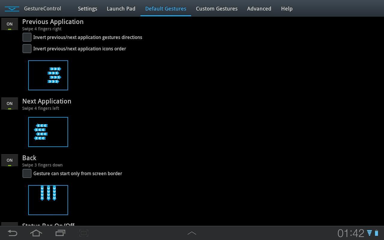 GMD GestureControl ★ root screenshot 2