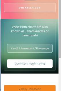 Téléchargement gratuit de Kundali match Making Software