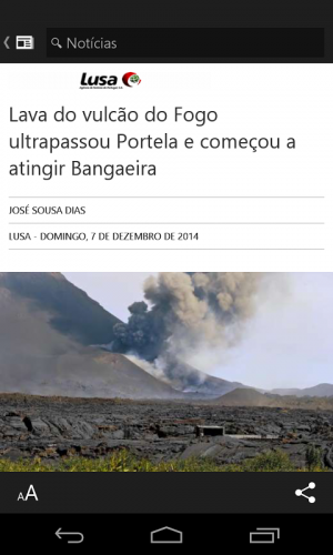 Microsoft Notícias screenshot 2