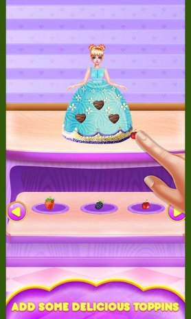 Princess Birthday Cake Maker Cooking Game Screenshot 16