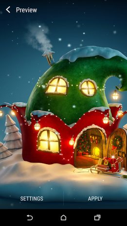 3d Christmas Live Wallpaper Screenshot 5