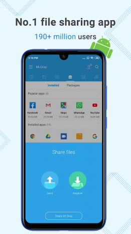 Mi Drop (Rebranding to ShareMe, soon!) 1 27 5 Download APK for