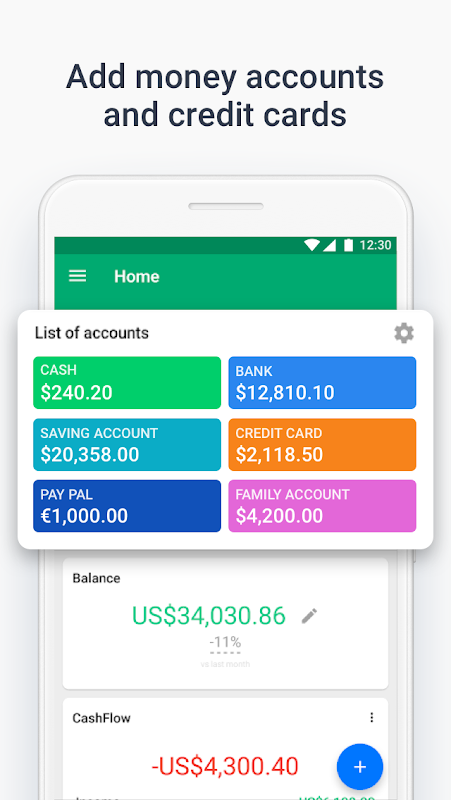 Wallet - Finance Tracker and Budget Planner screenshot 1