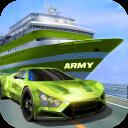 US Army Car Transport Kreuzfahrtschiff Simulator