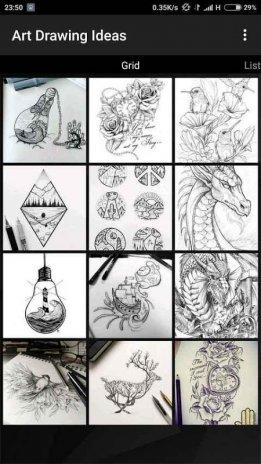 تحميل Apk لأندرويد آبتويد فن الرسم الأفكار1 3