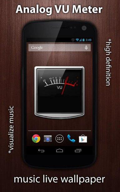 Analog Meter Background : Vu meter live wallpaper download apk for android aptoide