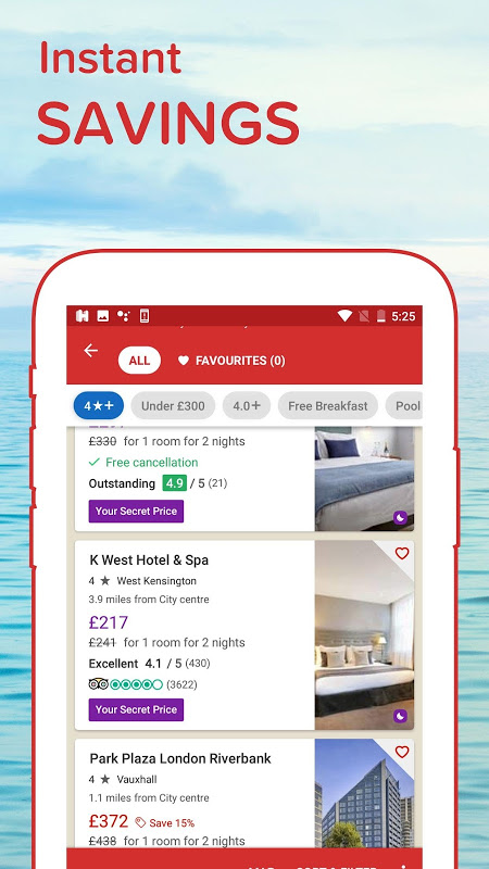 Hotels.com: Search Hotel Rooms & Book your Travel screenshot 10