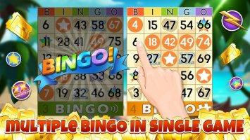 Bingo Party Screen