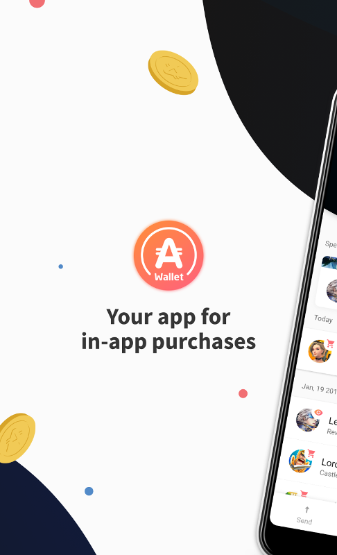 AppCoins Wallet screenshot 1