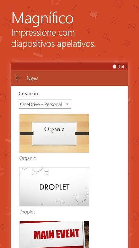 Microsoft PowerPoint: Apresentações screenshot 2