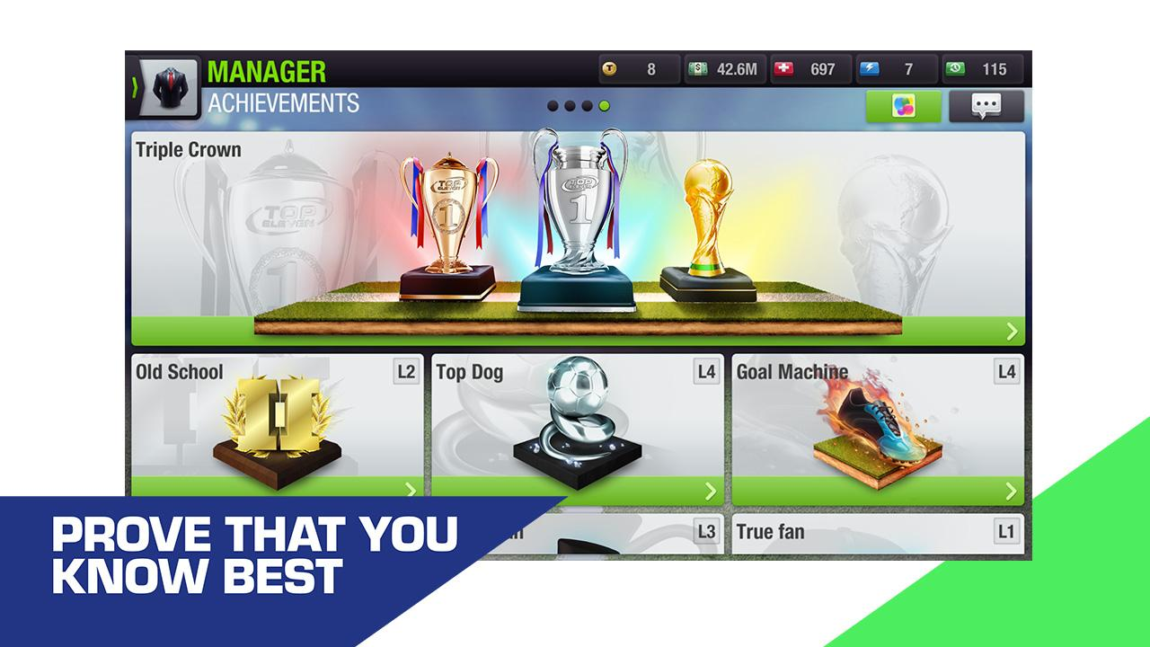 Top Eleven 2019 - Be a Football Manager screenshot 7