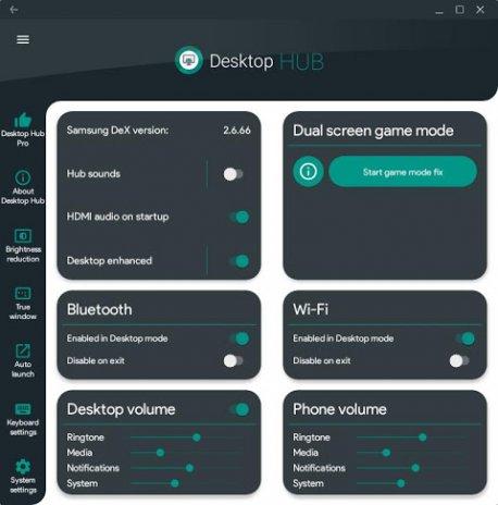 Desktop Hub for Samsung DeX 2 40 Download APK for Android