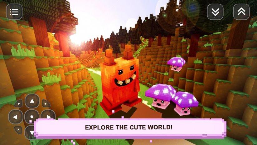 Kawaii Nettes Spiel Gebaude Screenshot 1
