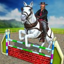 Real Horse World Jumping Game