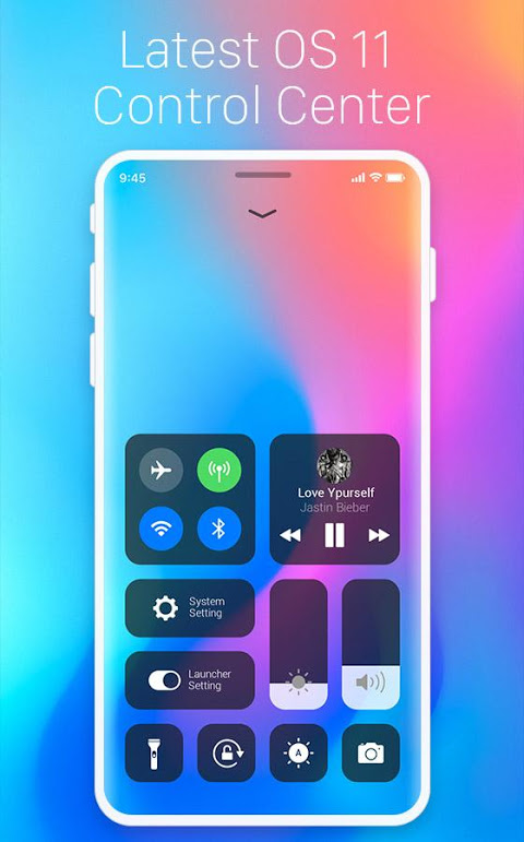 X Launcher Free for OS 11:  Phone X themes & icons screenshot 2