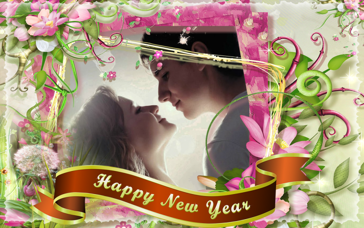 Happy New Year Photo Frame Editor Effects 2018 Screenshot 4