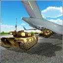 Tank-Frachtflugzeug Flight Sim