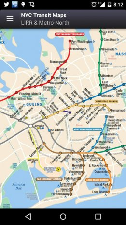 MyTransit Maps NYC Subway Bus 1 6 1 Download APK for Android Aptoide