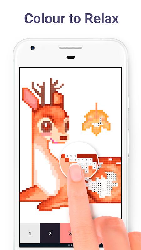 Pixel Art: Colour by Number screenshot 9