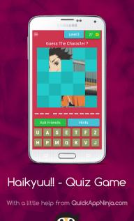 Guess Haikyuu!! Characters - Quiz Game screenshot 3