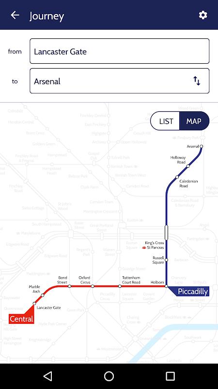 London Tube Map screenshot 2