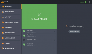 avast! Mobile Security 2 0 2750 Download APK for Android - Aptoide