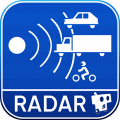 radarbot free speed camera detector speedometer icon