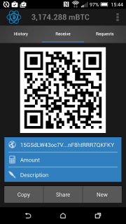 Electrum Bitcoin Wallet screenshot 3