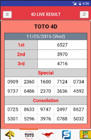 Live 4D Result (MY & SG) 2 0 5 ดาวน์โหลด APKสำหรับแอนดรอยด์- Aptoide