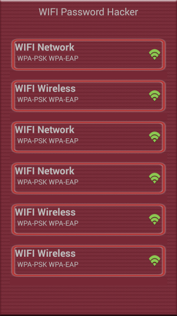 WiFi Password Hacker PRANK | Download APK for Android ...