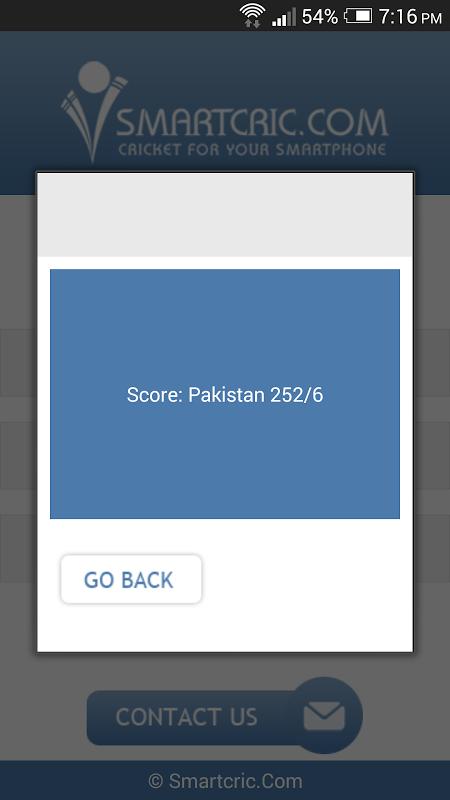 Smartcric screenshot 2