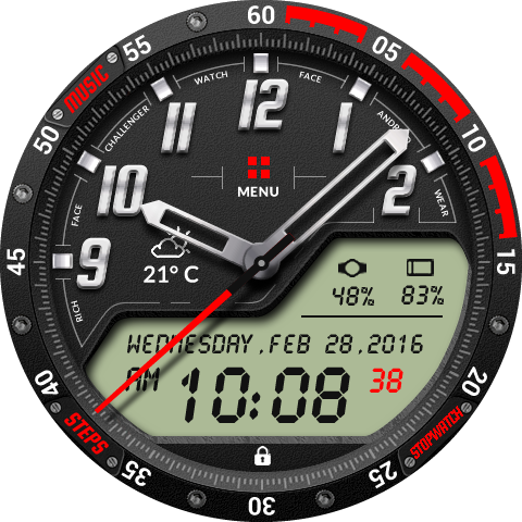 Challenger Watch Face 1 6 1 Download APK para Android | Aptoide