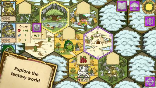 Griblers: offline RPG screenshot 1