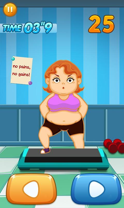 Игра похудение девушки