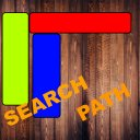 Search Path Puzzle Game