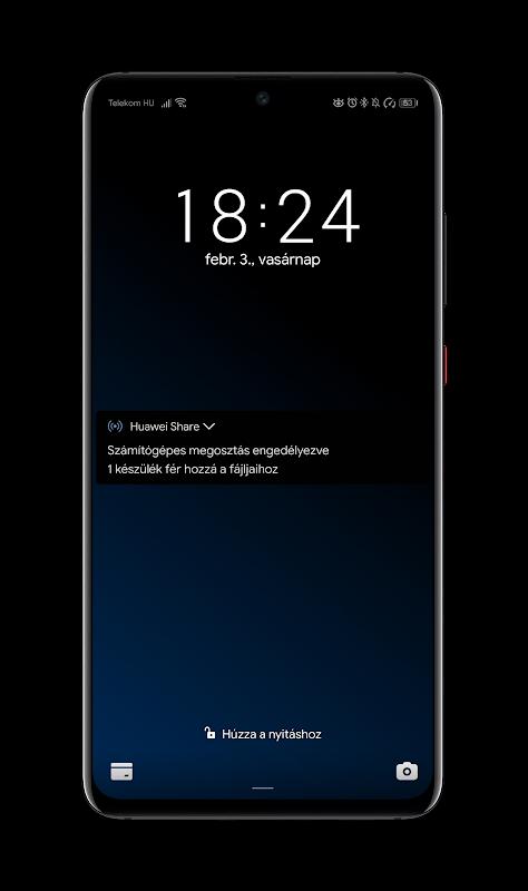 Black Pie Theme for EMUI 9 / 9 1 Huawei/Honor 9 0 Download APK para