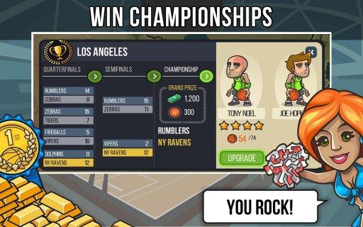 Basketball Battle screenshot 4