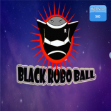 Black Ball Robo Icon