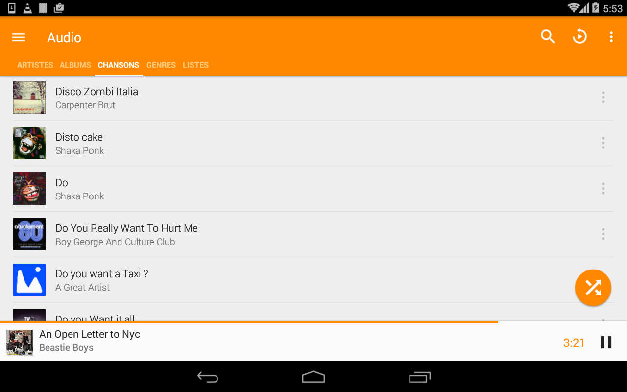 VLC for Android screenshot 4