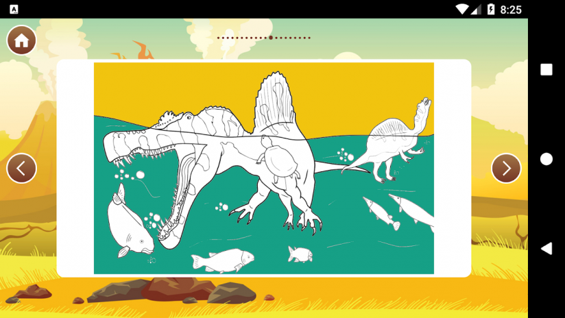 Best Dinosaur Coloring Book Screenshot 6