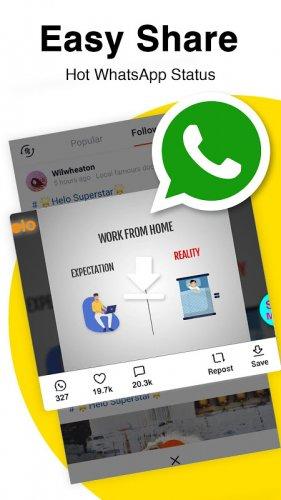 Helo - Discover, Share & Communicate screenshot 6