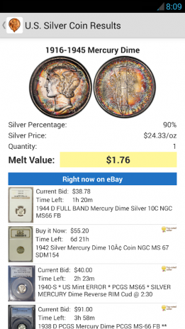Coinflation - Gold & Silver Melt Values 2 0 2 Download APK for