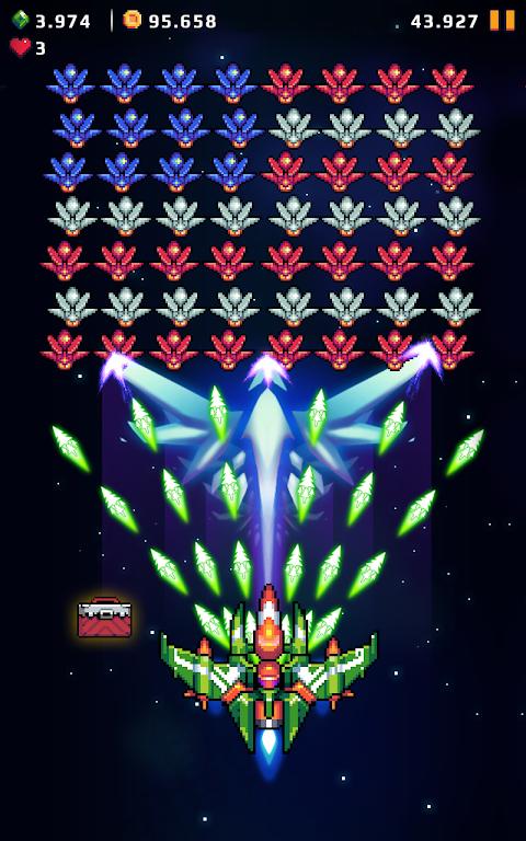 Galaxy Force - Falcon Squad screenshot 1
