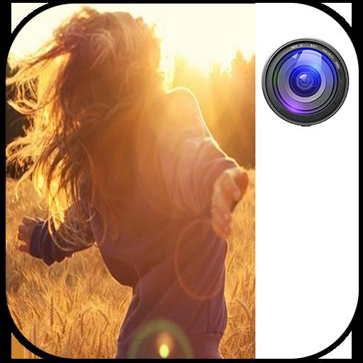 только приложение для придания бликов фотографиям этими